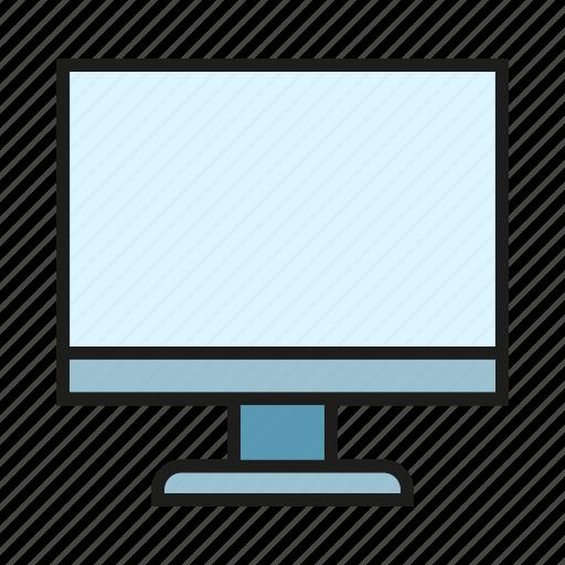 computer, desktop, electronic, screen icon