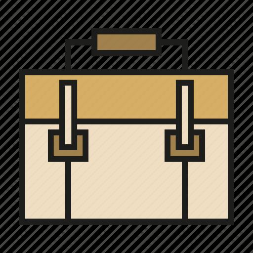 briefcase, business bag, handbag, portfolio, valise icon