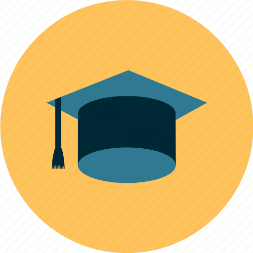 academia, cap, education, graduate, graduation icon