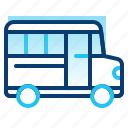 bus, education, learning, school, school bus, student, transport icon