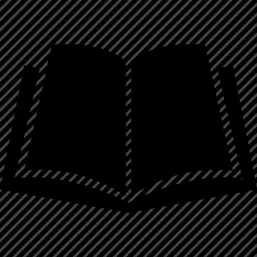 book, exercise book, notebook, open book, record, record book, volume icon