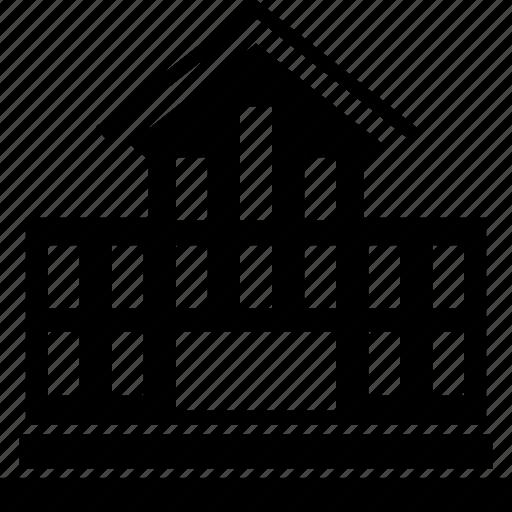 building, college, school, school building, structure icon
