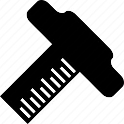 architecture t square, drawing instrument, t square scale, t-square icon