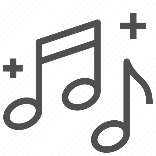 art, creation, melody, music, notes, song, subject icon