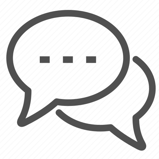 chat, colloquy, conversation, dialogue, interview, speech, talk icon