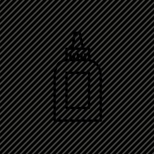 art, art supply, crafts, elmers glue, glue, glue bottle icon