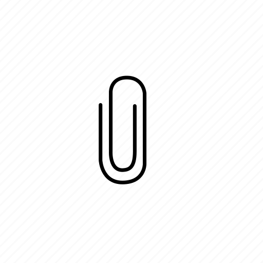 office supply, paper clip icon