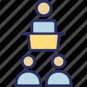 auditorium, classroom, pupil, school icon