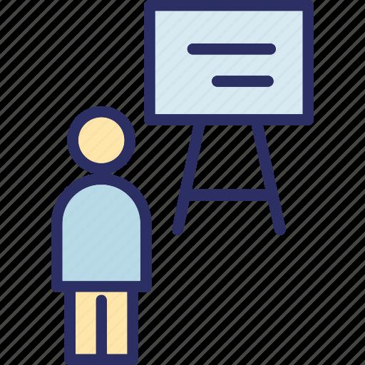 classroom, professor, teacher, teaching icon