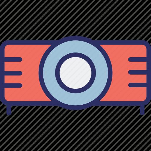 electronics, movie projector, multimedia, projector icon