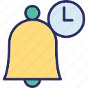 alert, bell, hand bell, ring icon