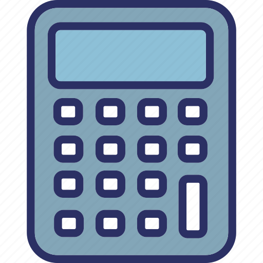 accounting, calculating device, calculator, digital calculator icon