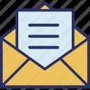 email, envelope, letter, letter envelope icon