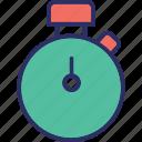 chronometer, stopwatch, timekeeper, timepiece icon