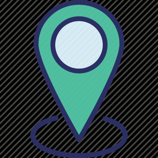 location marker, location pin, location pointer, map locator icon
