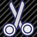 cutting tool, edit, scissor, utensil icon