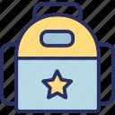 backpack, bag, book bag, school bag icon
