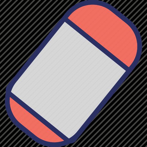 eraser, office supplies, rubber, school supplies icon