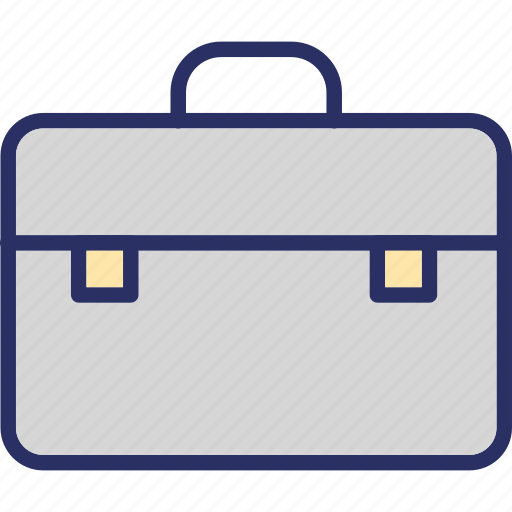 books bag, briefcase, documents bag, portfolio icon
