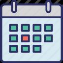 calendar, date, schedule, timeframe icon