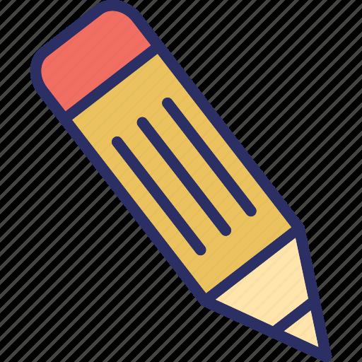 draw, lead pencil, pencil, stationery icon