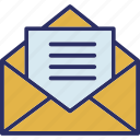 email, envelope, inbox, letter icon