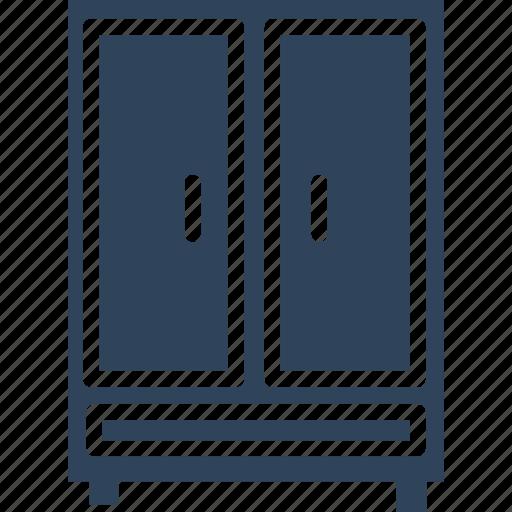 almirah, bureau, closet, cupboard icon