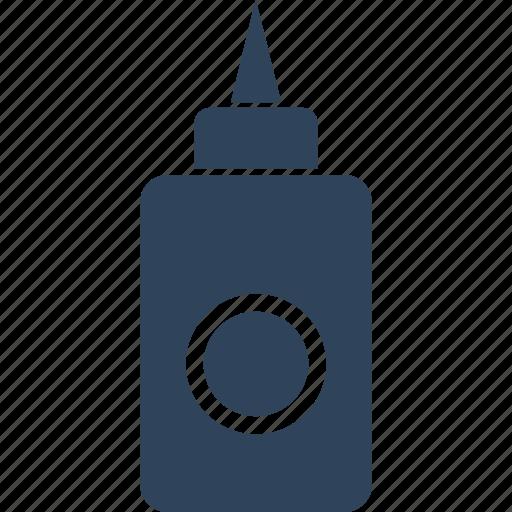 adhesive, glue, glue bottle, gum bottle icon