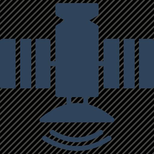 dish antenna, parabolic antenna, radar, satellite icon