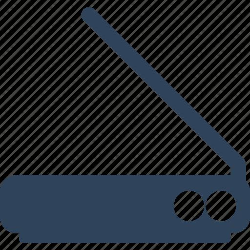 image scanner, scanner, scanner machine, scanning device icon