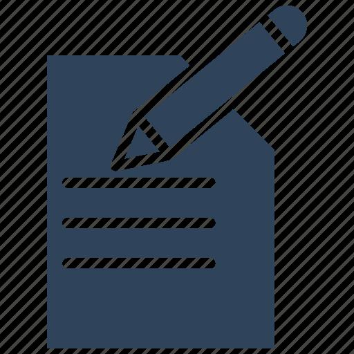 cheque signing, pen, receipt, signature icon