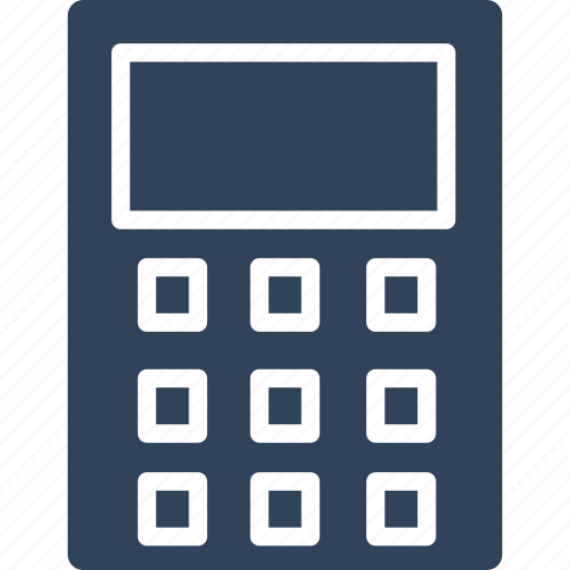 accounting, calculating device, calculator, digital calculator icon