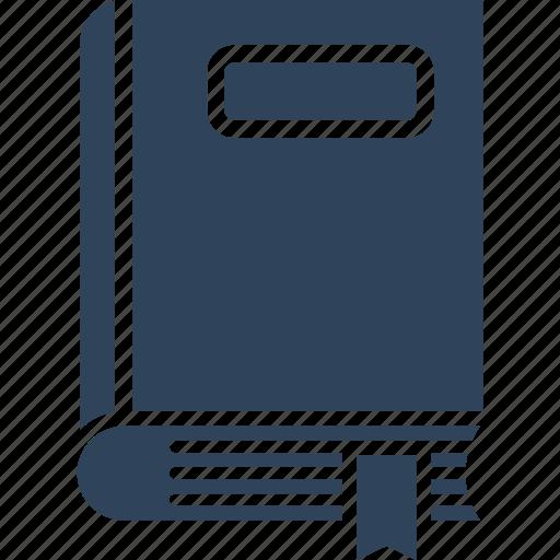 book, bookmark, diary, knowledge icon