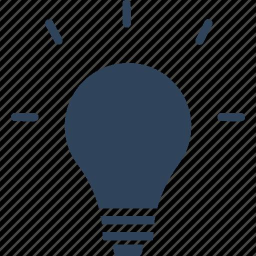 bulb, creative idea, idea, innovation icon