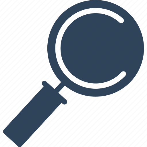 magnifier, magnifying glass, search, searching icon