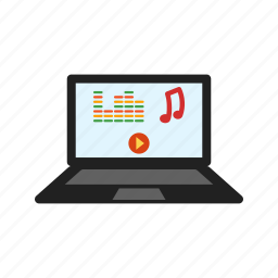 entertainment, music, musical, piano, play, playing icon