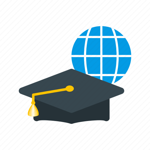 computer, education, graduation, learning, online, training, university icon