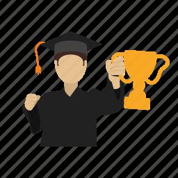 achievement, cup, prize, sport, trophy, winner, winners icon