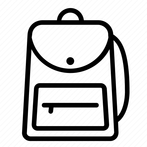 backpack, bag, education, office, school, stationery, tools icon