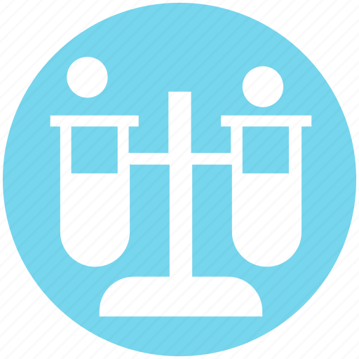 Chemical, experiment, flask, laboratory, liquid, science, test tube icon - Download on Iconfinder