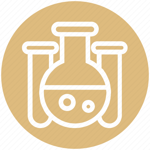 Experiment, flask, lab, laboratory, liquid, science, test tube icon - Download on Iconfinder