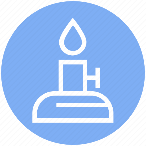 Burn, candle, education, fire, learning, physics, science icon - Download on Iconfinder