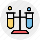 chemical, experiment, flask, laboratory, liquid, science, test tube