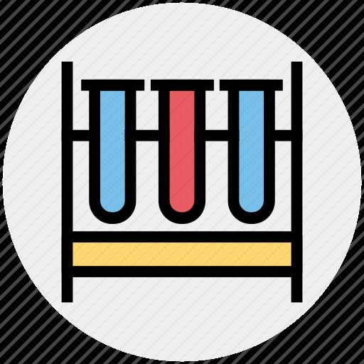 chemical, flask, lab, laboratory, liquid, science, test tube icon