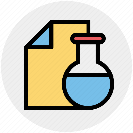 chemical, flask, lab, laboratory, liquid, science, test tube icon
