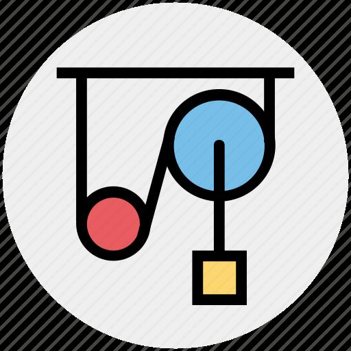 Device, machine, machine belt, running machine, science, science and machine icon - Download on Iconfinder