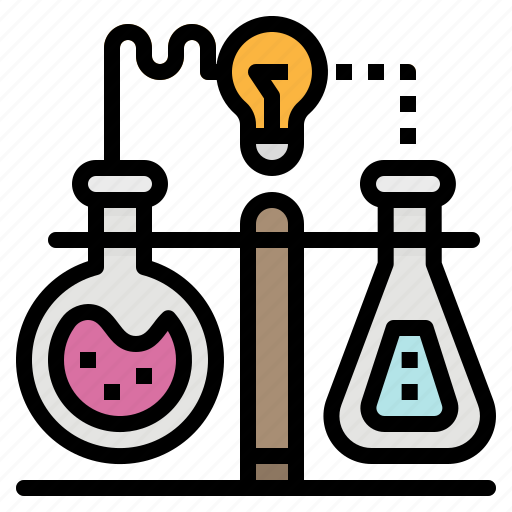chemical, flask, flasks, laboratory, mix icon