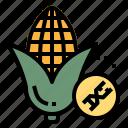 food, fruit, gmo, plant, transgenics icon