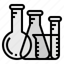 chemistry, flask, lab, laboratory, science icon