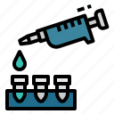 chemistry, dropper, lab, pipette, science icon